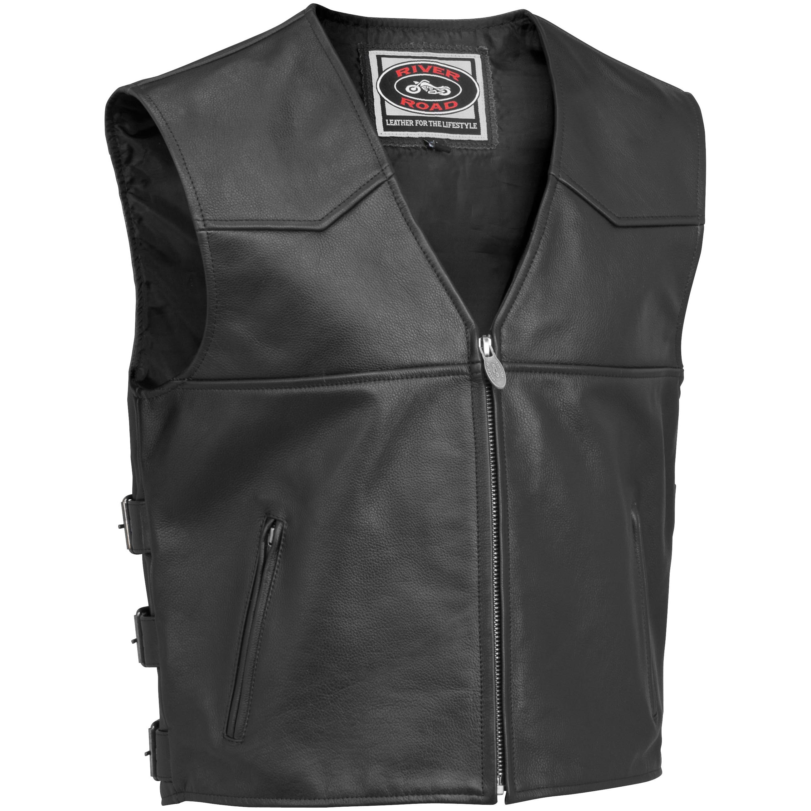 Plains Leather Vest