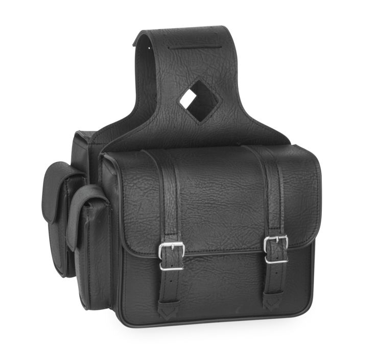 No Frills Saddlebags with Quick-Release Straps