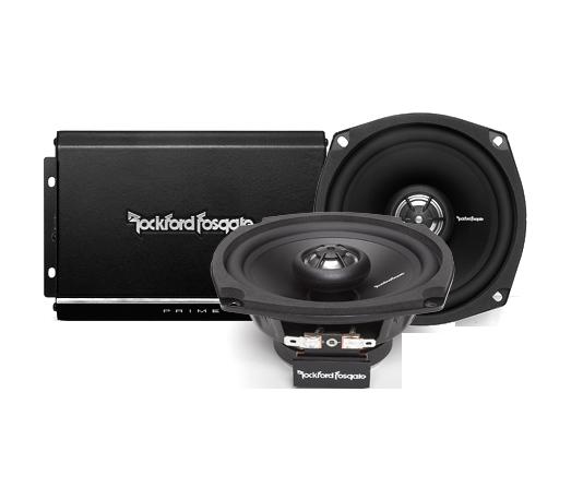 2 Channel Amp & Speaker Kit