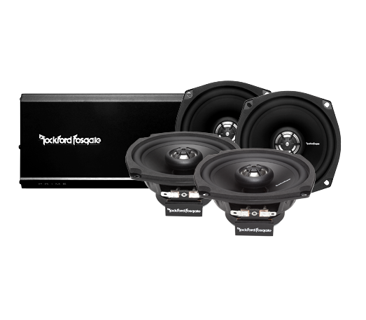 4 Channel Amp & Speaker Kit