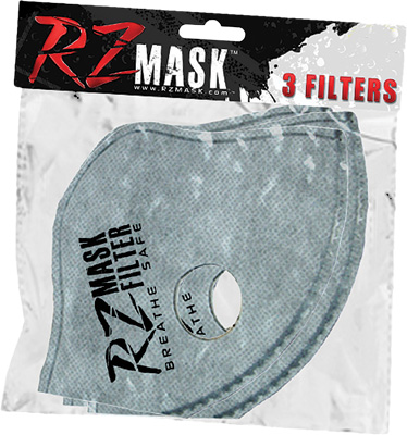 RZ Mask Youth Dust Mask Replacement Filter Boys Gray Youth