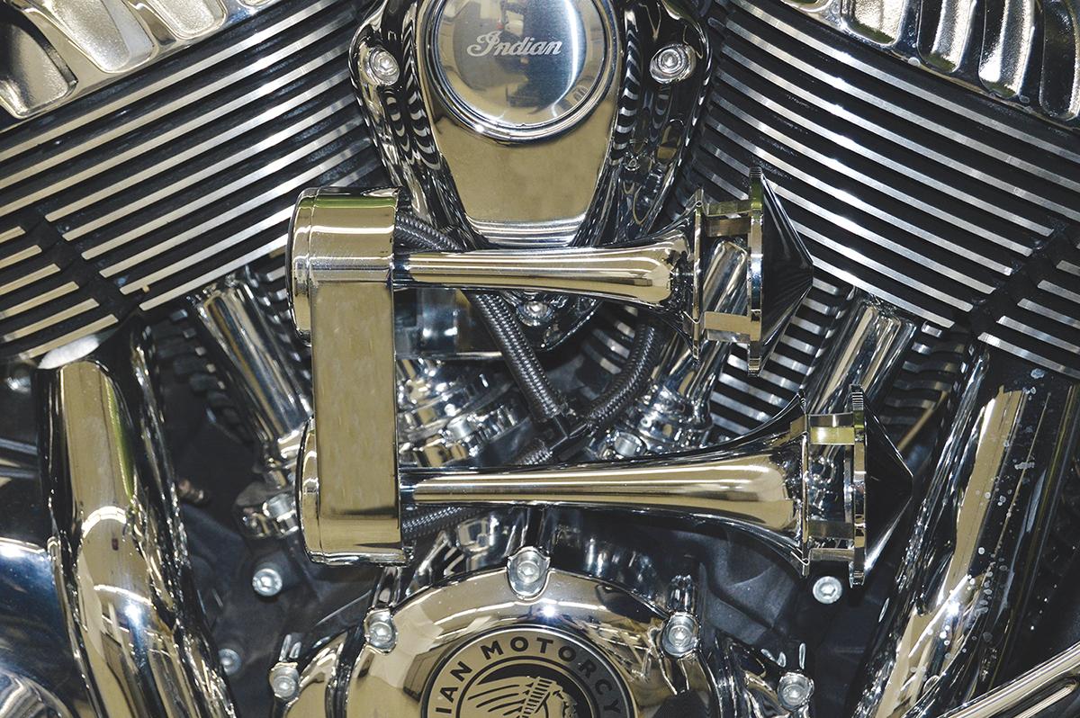 Rivco LOUD Chrome Dual Air Horns Harley-Davidson    # AHHD
