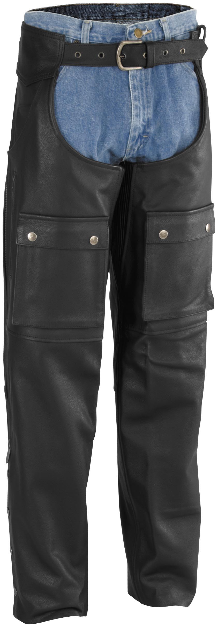 Moto Leather Chaps