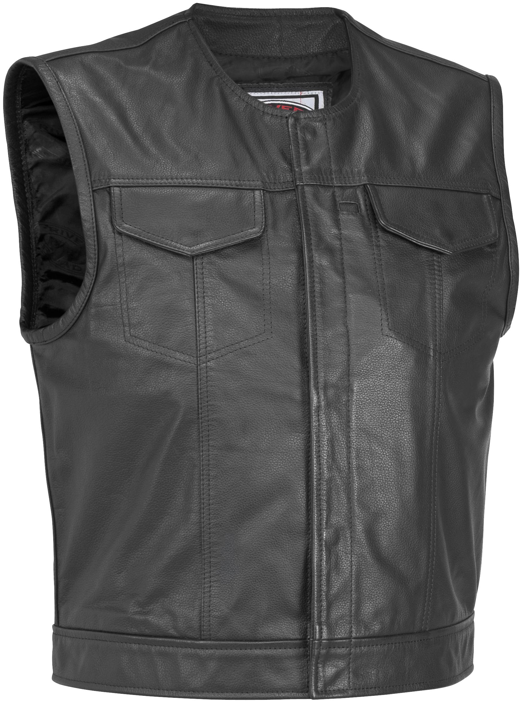 Vandal Leather Vest