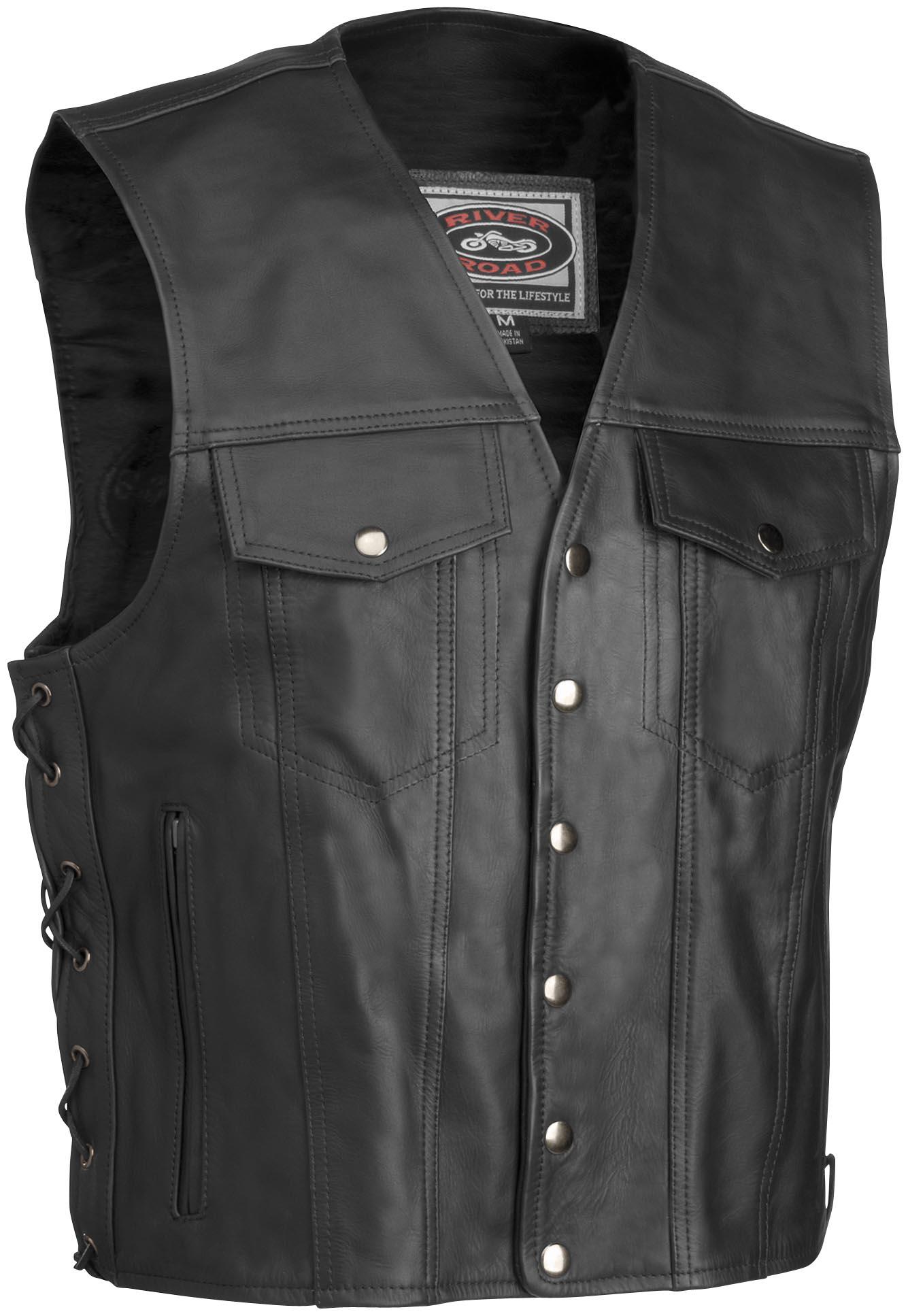 Frontier Leather Vest