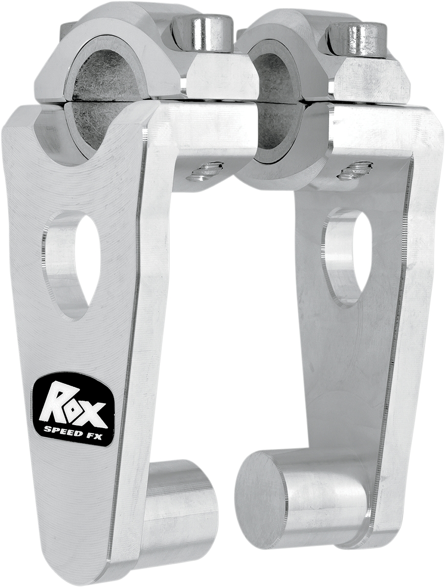 """5/"""" Pivoting Risers for 7//8/"""" OR 1-1//8/"""" Handlebar Natural 1R-P5SE Rox Speed FX"""