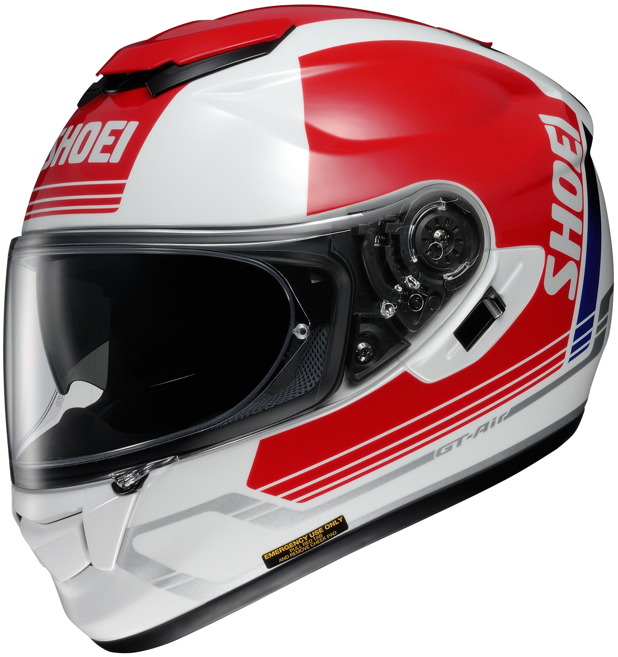 2018 shoei gt air decade helmet full face street. Black Bedroom Furniture Sets. Home Design Ideas
