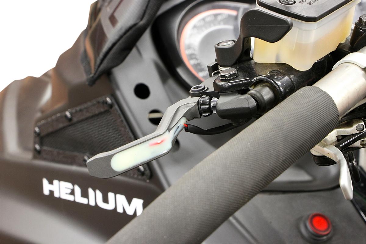 Skinz Protective Gear Adjustable Heated Brake Lever SDBLH100GR