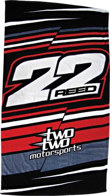 22 Motorsports Beach Towel