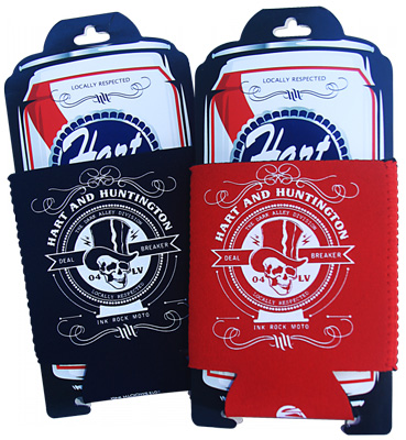 Hart and Huntington Boot Can Cooler