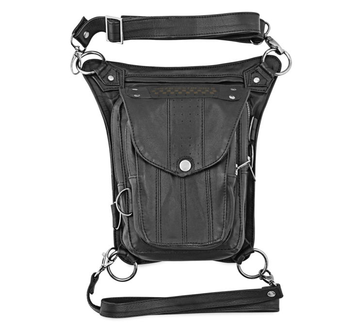 Speed Society Leather Hip Bag
