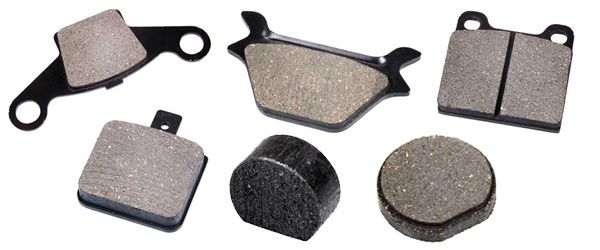 Semi Metallic Brake Pad Set for Snowmobile SNO JET SST F//A 1975