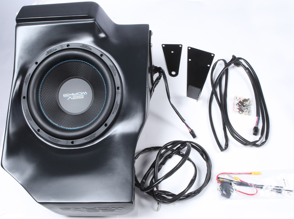 "10"" Sub Behind Seat"