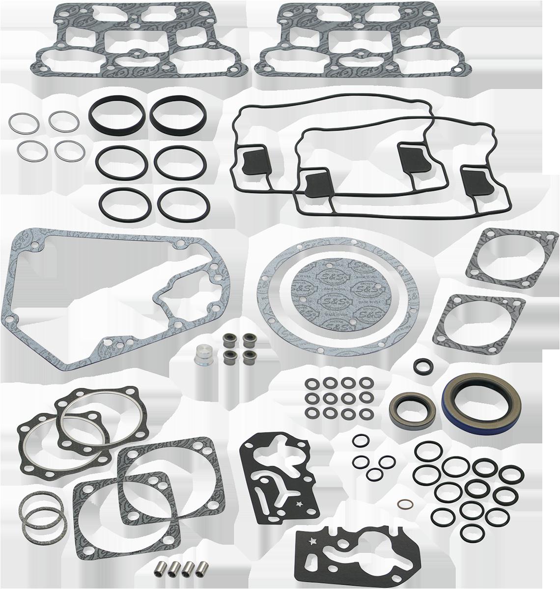 S&S 106-0964 Complete Engine Rebuild Gasket Kit V-Series 4