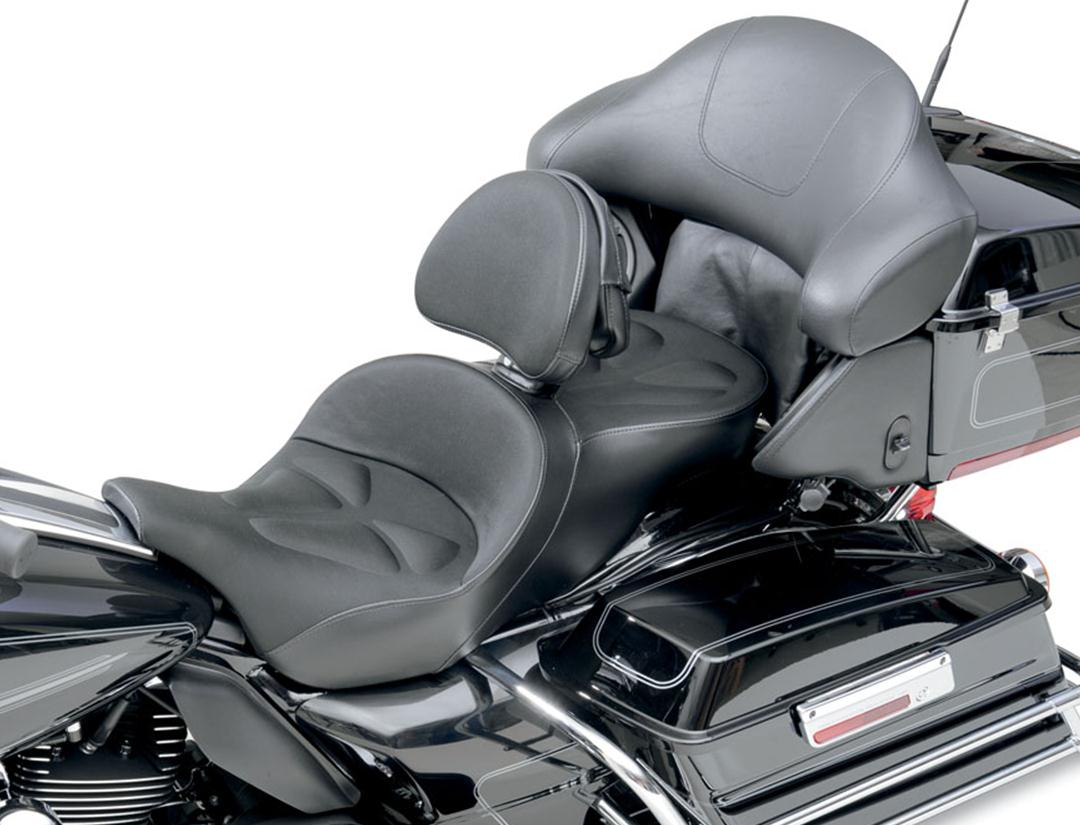 Explorer G-Tech Seat - Memory Foam and Fabric with Driver Backrest