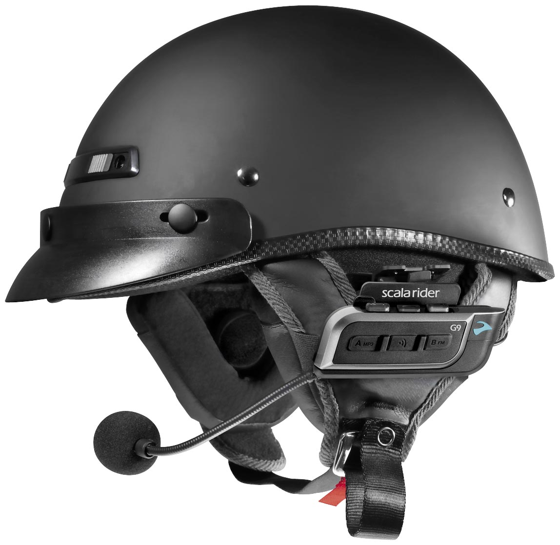 Scala Rider Half Helmet Audio Kit for G9 Headset