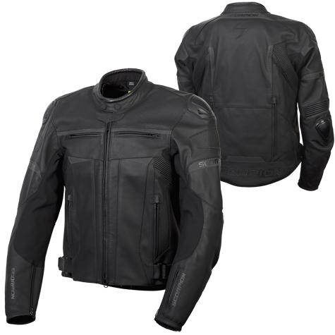 Scorpion Ravin Leather Street Adventure Cruiser Motorcycle ...
