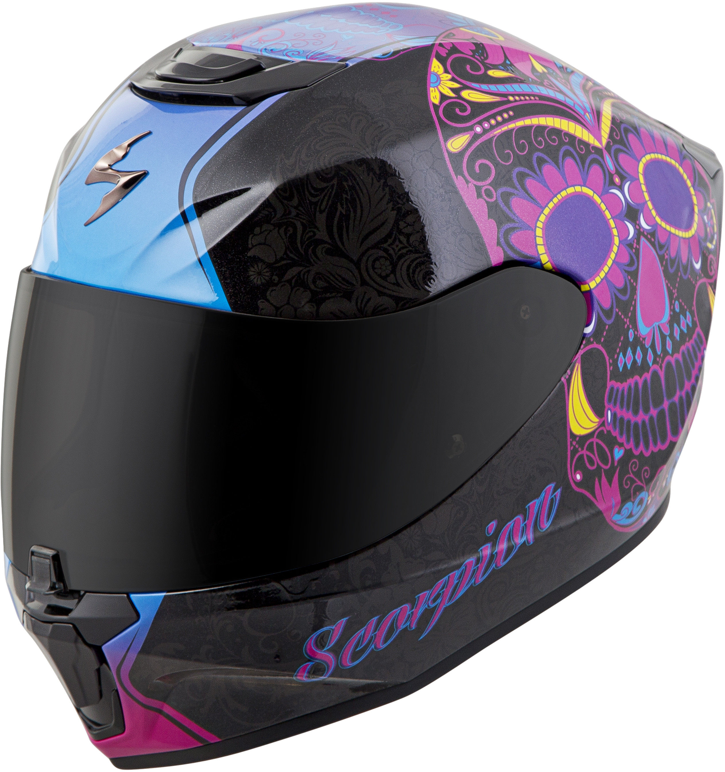 Scorpion Kwikwick EXO-C110 Liner Street Motorcycle Helmet Accessories Black 2X-Large