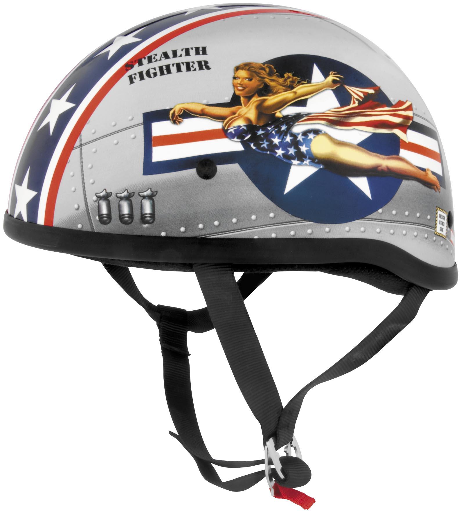 Original Bomber Pin Up Helmet