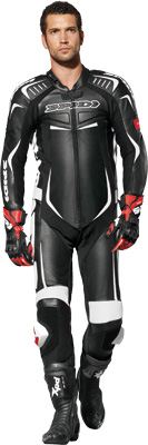 Track Wind Pro Leather Motorcycle Suit