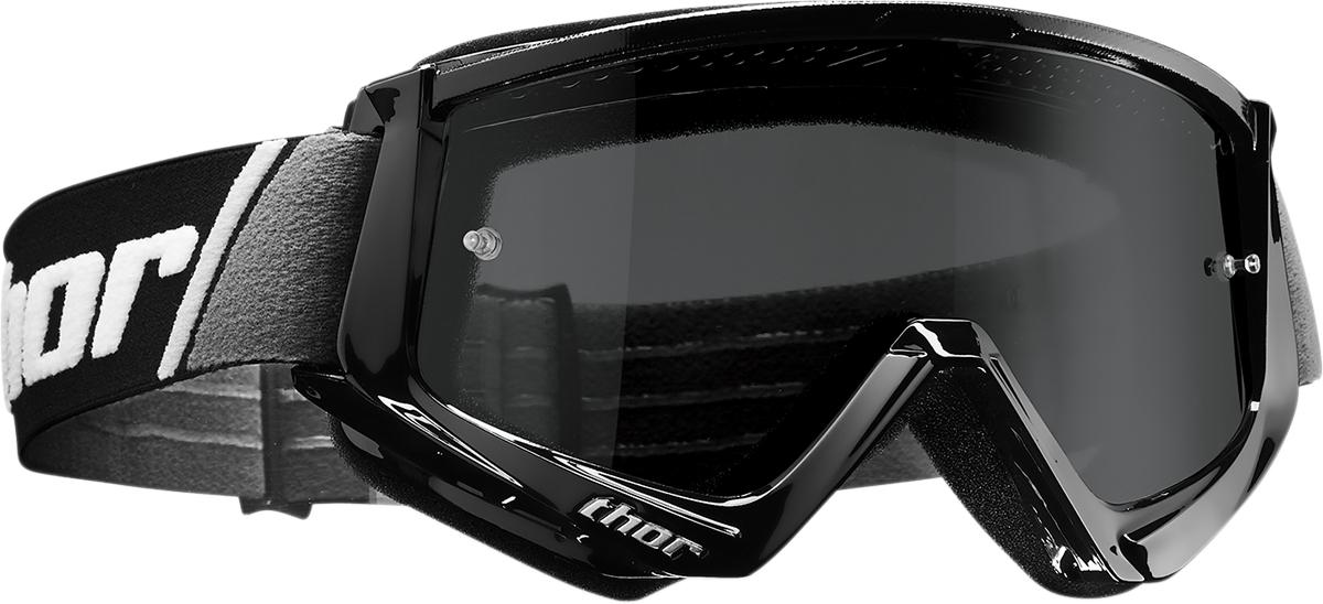 Smoke Thor Combat Sand Goggles 2601-2083 Black//White