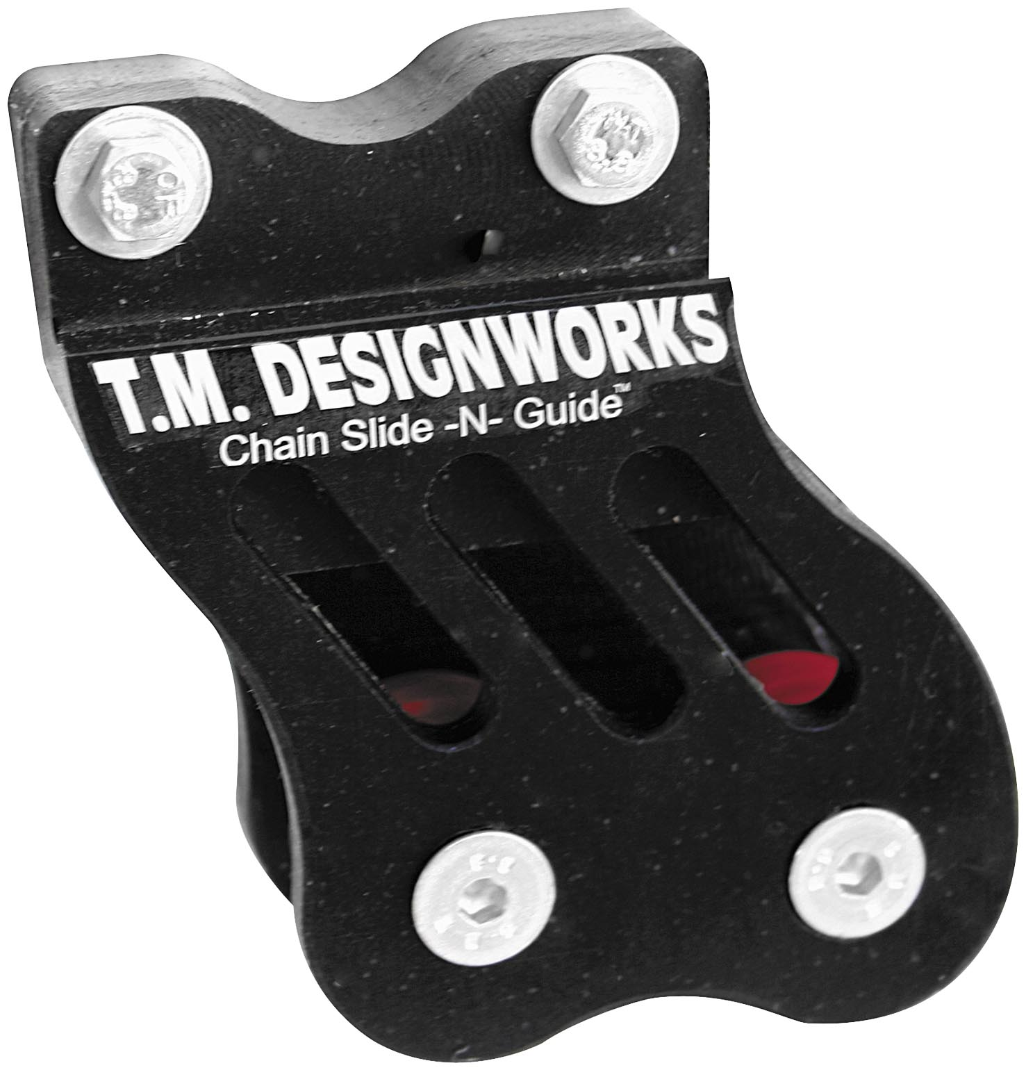 Designworks Rear Chain Guide and Single Powerlip Roller RCG-005-BU T.M