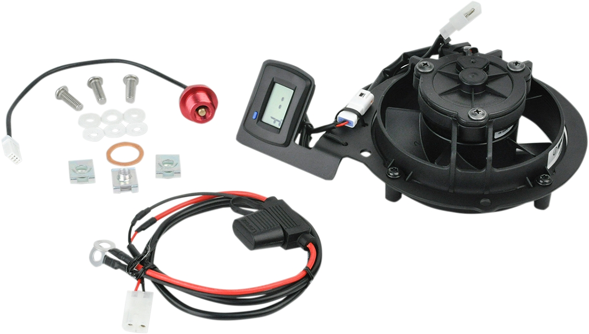 NEW Trail Tech Digital TTV Cooling Fan Kit FITS Husaberg 2012-2013  TE 300