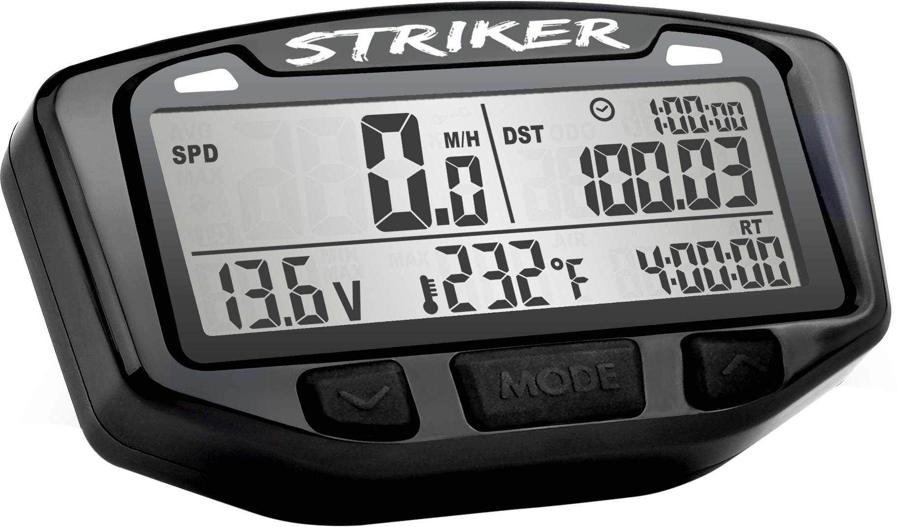 712-118 Trail Tech Striker Digital Gauge Polaris,Yamaha,Kawasaki,Suzuki,Can