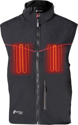 12V Hybrid Heated Soft Shell Vest