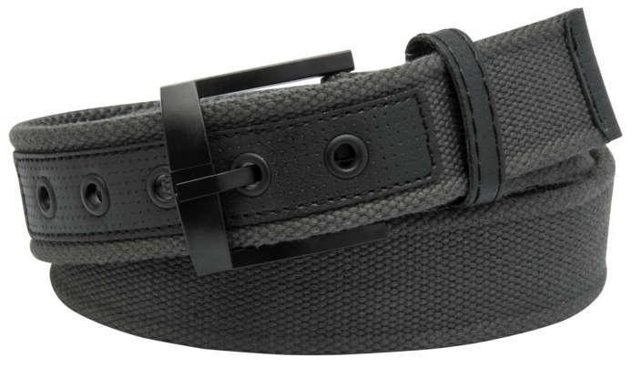 Charcoal Web Belt