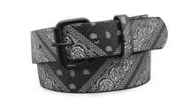 Black Bandana Belt