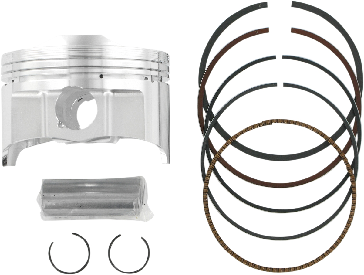 10.5:1 Compression 4117M08950 Wiseco Piston Kit 0.50mm Oversize to 89.50mm