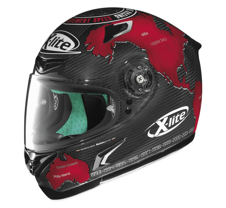 X-802RR Checa Replica Helmet