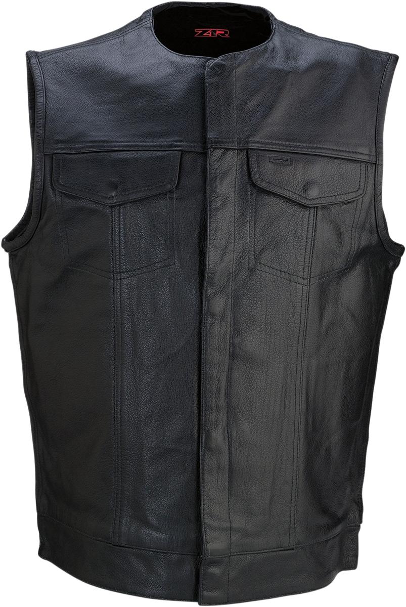 338 Leather Vest