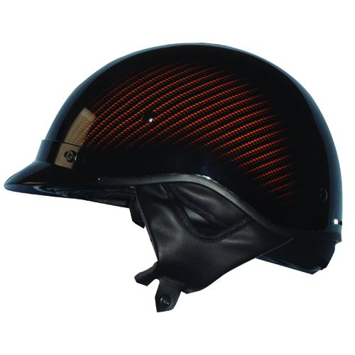 Route 66 Carbon Graphics Half Helmet