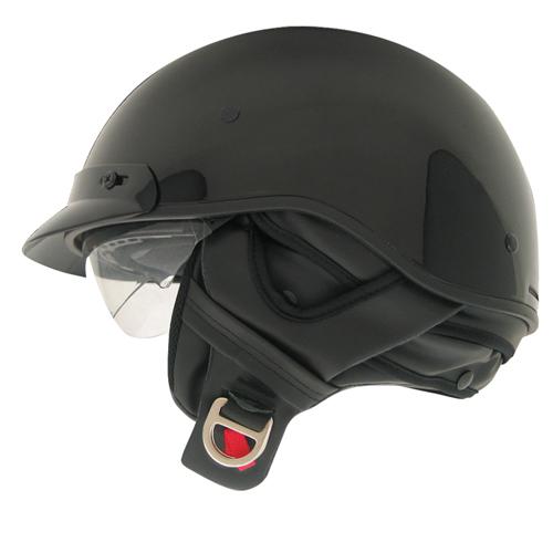 Route 66 Solid Color Half Helmet