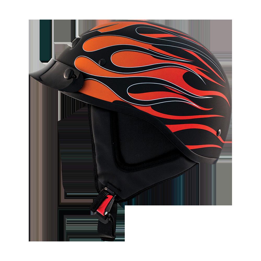 Alto Custom Hot Rod Street Half Helmet