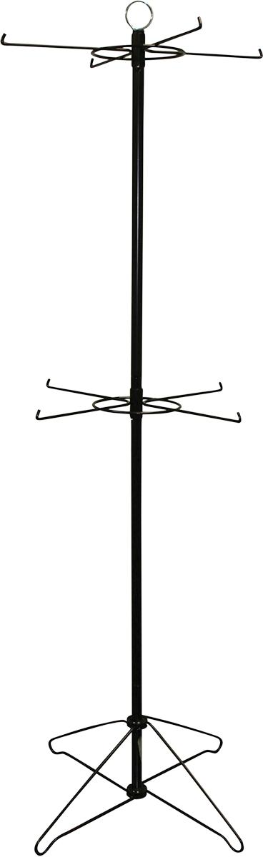 4-1/2ft. 2 Level Spinner Rack